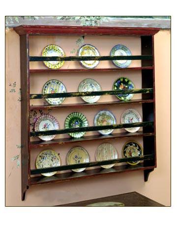 English Plate Rack By Jane Keltner