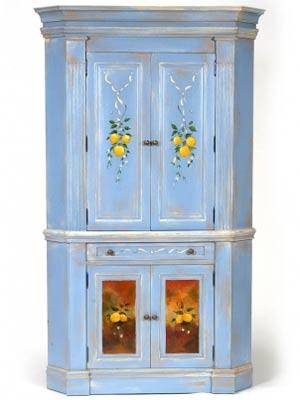 Corner Cabinet By Jane Keltner
